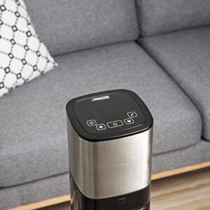 pantalla de control tactil del ventilador de pie inteligente princess