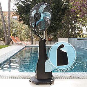 Ventilador de Pie con Nebulizador de Agua
