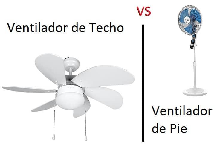 ventilador de Techo o de Pie